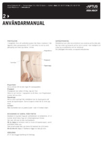 thumbnail of Användarmanual porttelefoni
