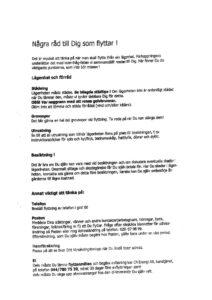thumbnail of Info om flytt