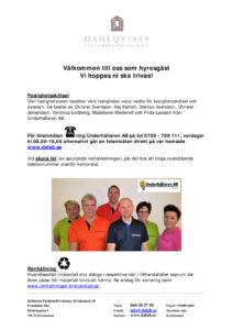 thumbnail of Valkommen som hyresgast hos Dahlqvist